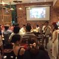 結婚式二次会でのお祝いでは気の知れた仲間たちと盛り上がる!