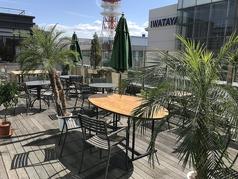 陽光に包まれてのカフェタイム
