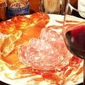 料理メニュー写真生ハムとサラミの盛り合わせ half