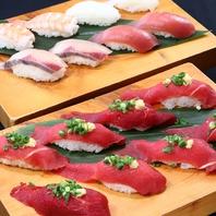 お好きなネタをお好きなだけ注文可能なにぎり寿司!
