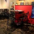 5名様向けのテーブル席です。お客様の人数に合わせたお席をご用意いたします。