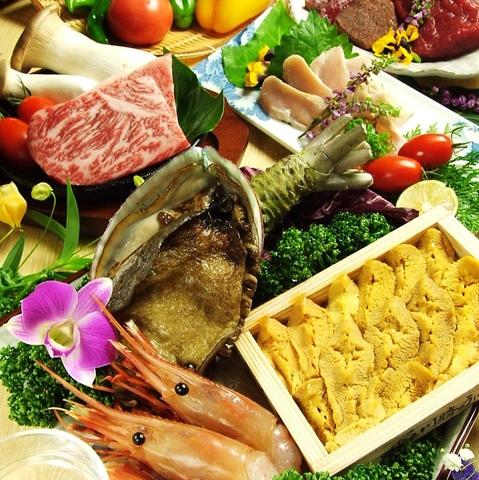 おすすめは季節によって替わる旬の魚と神戸牛!全て手作りのお料理は絶品です。
