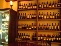 世界のワインがズラリ!