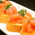 料理メニュー写真トマトのブルスケッタ