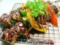 料理メニュー写真牛ヒレのブロシェット・赤ワインソース