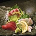 料理メニュー写真鮮魚のお造り