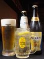 一杯目は…やっぱり生ビール&超炭酸ハイボールで乾杯!