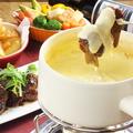 料理メニュー写真選べるチーズフォンデュ(3種)