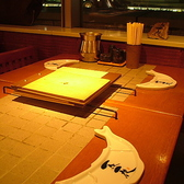 窓際テーブル席 4名