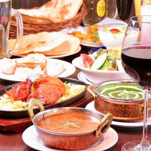 インド&ネパール料理 SANTUSTI サントスティ|店舗イメージ1