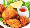 料理メニュー写真 鶏の竜田揚げ