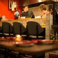 【じろう食堂・全18席】カウンター6席、テーブル12席