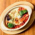 料理メニュー写真たっぷり野菜のトマト煮込み
