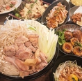 【3時間飲み放題付】こ、これが…鶏ヤロー本気の10品【鶏鍋堪能するコース】か!3,500円(税込)