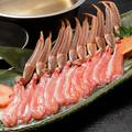 料理メニュー写真蟹しゃぶ