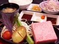 料理メニュー写真宮崎牛 赤身サイコロステーキセット(150g)