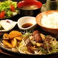 料理メニュー写真近江牛角切りステーキ(100g)