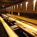 25名様までご利用可能な掘りごたつ個室。25名様前後までご利用いただけるお席となっております。堀ごたつ席なので足もラクラク。駅チカなので終電の心配をする必要もなくお楽しみいただけます。宴会特典などもございます。ぜひご利用下さい。人気のお席なので、ご予約はお早めに!新横浜で大人数宴会の際はぜひ当店へ!