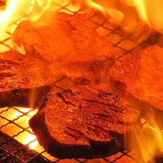 牛芯タンの炭火焼き
