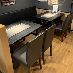 4名様テーブルを5つご用意♪