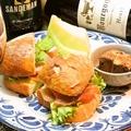 料理メニュー写真サンドイッチ カフェ セット
