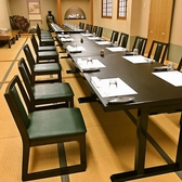 2階の宴会場は通常お座敷ですが、テーブル席でのご用意も可能です。ご希望の場合はお気軽にお申し付けください。