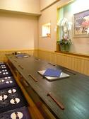 【掘りごたつ席】足を伸ばしごゆるりと~テーブル席・掘りごたつ席・お座敷席・カウンター席など、総席数36席・ご宴会最大36名様まで!お客様の人数に合わせ、ご案内いたします。お席の詳細はお気軽にお問い合わせください!※写真は一例です
