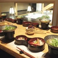 一人一皿でご提供する【和】のおもてなし