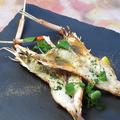 料理メニュー写真イタリア直送手長海老のグリル