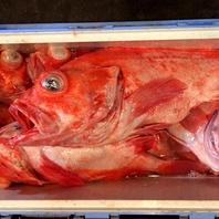マスターの釣ったお魚を楽しめます!