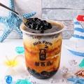 料理メニュー写真アッサム黒糖タピオカミルクティー