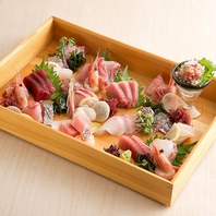 旬の鮮魚を使用したお造りを是非京都でご堪能ください