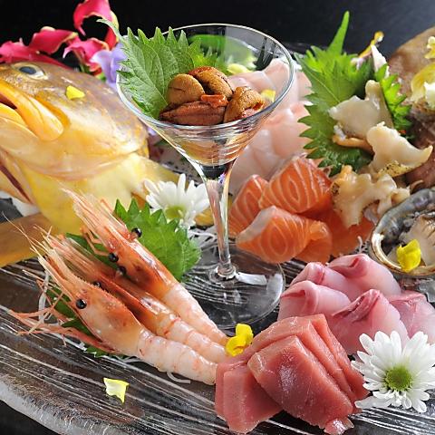 北海道の食材をメインに和洋様々な料理を楽しめるおしゃれな居酒屋