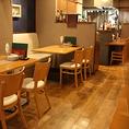 元気になれるアットホームな雰囲気は、まさにイタリアの台所。温かい雰囲気の店内でシェフこだわりのイタリアンとワインをごゆっくりお楽しみください。