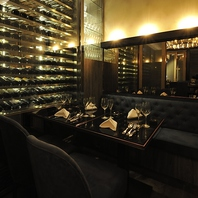 150種類以上のワインリスト