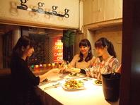 大人気◆寛ぎのロフト席は女子会・デートに最適♪