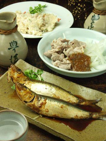 他では中々食べることが出来ない大分県豊後の郷土料理が楽しめる事でも人気のお店です