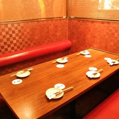 広々6名テーブル個室です!!