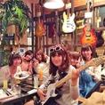 女子会&BirthdayにはBD専用ギターと一緒に撮れます♪♪