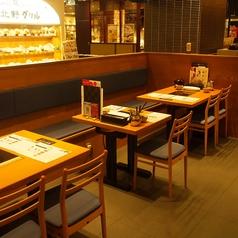 しゃぶしゃぶorすき焼き食べ放題はもちろん、ハーゲンダッツのアイスクリーム食べ放題もご用意しております♪ビュッフェコーナーよりお好きにお取り下さいませ。濃厚な味わいは絶品です!京都駅で飲み会、各種ご宴会でぜひご利用くださいませ。