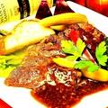 料理メニュー写真牛サーロインのグリルステーキ