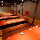 60名以上など『大型宴会・飲み会・パーティーなど』最大130名様までお席準備いたします。大阪梅田駅すぐでアクセスも◎梅田駅、東梅田駅、中津界隈で居酒屋お探しのお客様は是非ご利用下さいませ♪