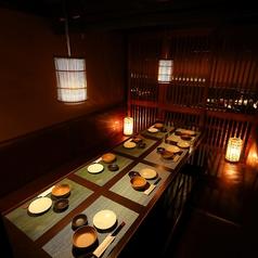 お忍び個室 居酒屋 灯 akari 掛川店の雰囲気1