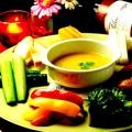 料理メニュー写真新鮮生野菜のヘルシーバーニャカウダ