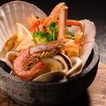 料理メニュー写真魚介のメリアロ焼~ガーリック風味~