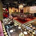 ニューヨークに実在するホテルのラウンジを再現したスタイリッシュな空間。数多くのテレビドラマのロケーションやミュージックビデオの撮影にも使われています。