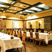 最大40名様までの完全個室、会社でのご利用や、同窓会等に人気のお席です。