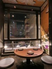 テラス個室☆デートなどにもOKの完全個室です。