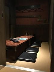 小上がり席は扉付きの完全個室☆のんびり過ごせます。