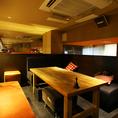 ふかふかソファ個室ロフト席☆やや大きな個室風ロフト席(6-10名様)は宴会にピッタリ。